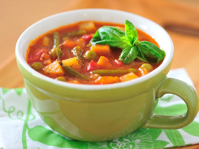 Video : Indian Style Minestrone Soup
