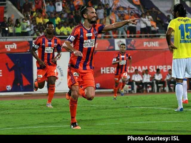 Video : ISL: FC Pune City Go On Top After Win Over Kerala Blasters FC