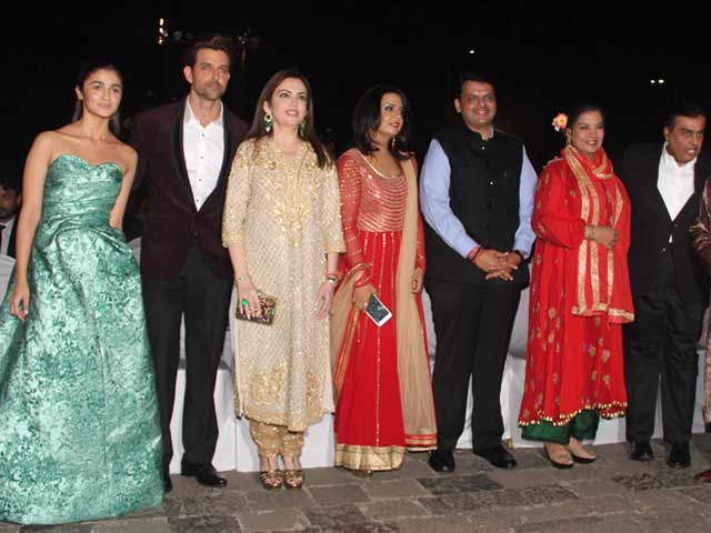 A-Listers at Opening Ceremony of Mumbai Film Festival