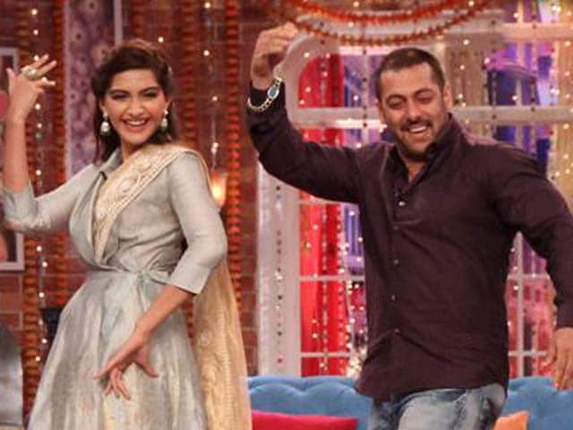 Video : Sonam, Salman's Fun Moments With Kapil
