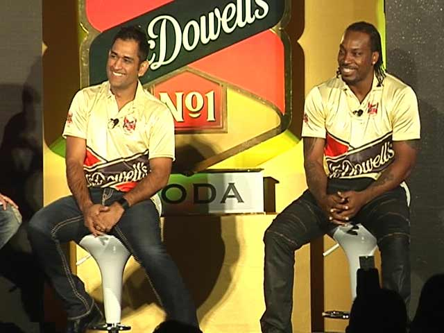 Video : Is Gayle Faster Than Usain Bolt? Here's Dhoni's Take