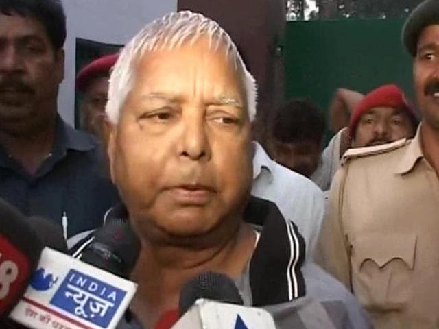 Video : 'Good Morning, We Are Winning,' Says Lalu Yadav