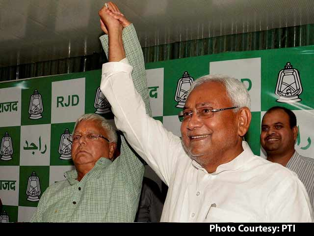 Video : Nitish Kumar will Continue as Bihar Chief Minister, Says Lalu
