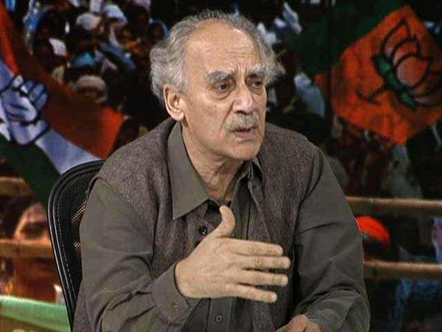 Video : Modi Supporters on Social Media Abused My Disabled Son: Arun Shourie