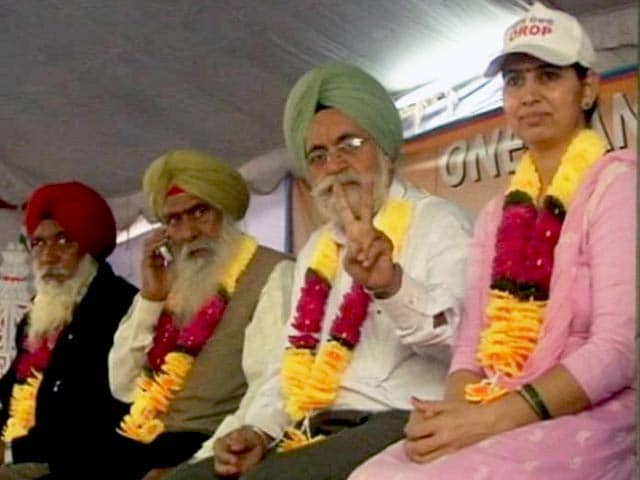 Video : In One Rank One Pension Row, Ex-Armymen Disagree on 'Medal Wapsi'