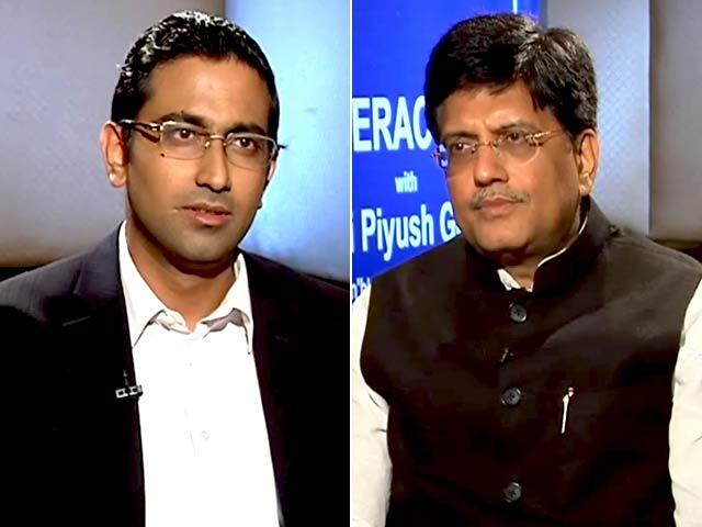 Video : UDAY Will Focus On Efficiency: Piyush Goyal