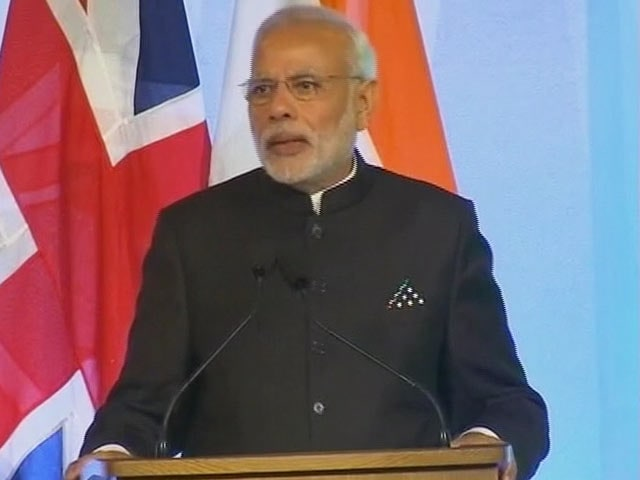 Video : India One of Most Open Countries for Foreign Investment: PM Modi in UK