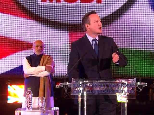 Video : पीएम मोदी के नेतृत्व में अच्छे दिन आएंगे : वेम्बले में बोले ब्रिटिश प्रधानमंत्री डेविड कैमरन