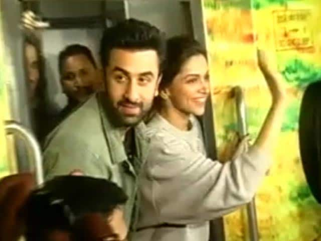 Deepika and Ranbir's Tamasha on Wheels