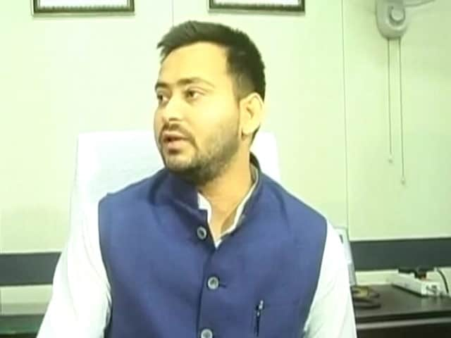 Video : Tejaswi Yadav, 26, Talks Of Modern Corruption-Free Bihar