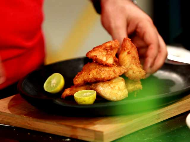 Video : Fried Fish Amritsari (My Yellow Table)