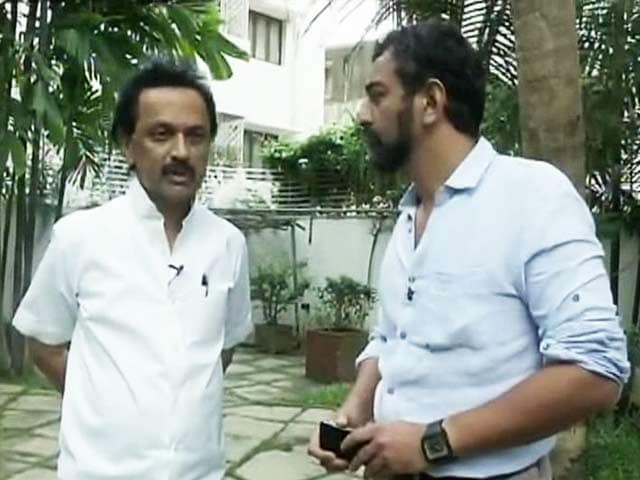 Video : The Political Mood in Tamil Nadu is for Change, Says MK Stalin