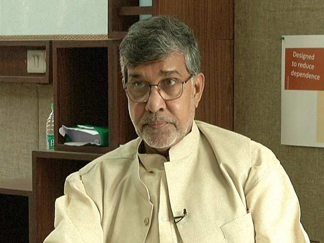 Video : Kailash Satyarthi Talks About How to Boost the Education Sector