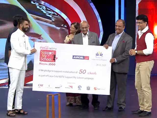 Video : Rotary & Aircel Fund Revitalisation of 50 Schools
