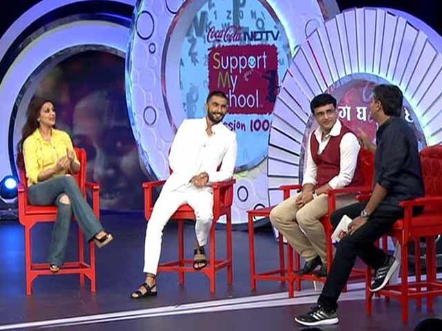 Video : Highlights of the NDTV-Coca Cola Support My School Telethon