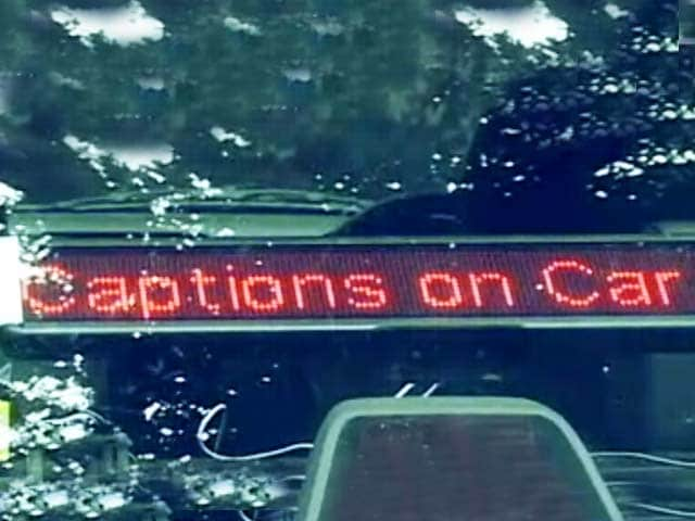 Video : Idea Behind Start-Up Captions on Car