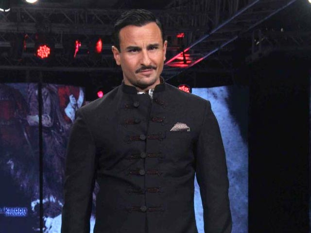 Saif Ali Khan 'Very Excited' About Playing Chef