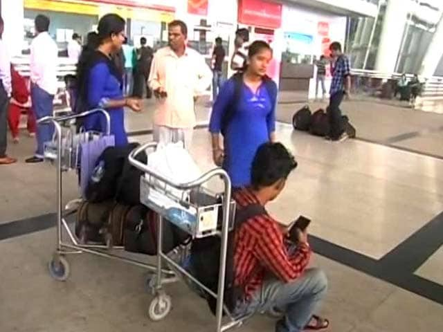 Video : Many Stranded as Chennai Airport Struggles to Resume Operations