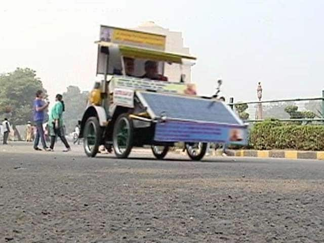 Video : A Zero Pollution Solar Car: Possible Answer to India's Killer Air