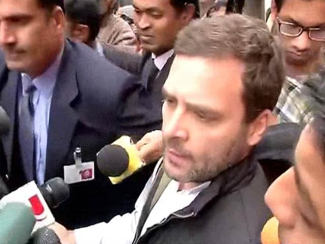 Video : '100% Political Vendetta Coming Out Of PM's Office': Rahul Gandhi