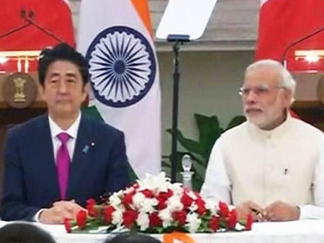 Video : बुलेट ट्रेन सहित भारत और जापान के बीच हुए कई अहम समझौते
