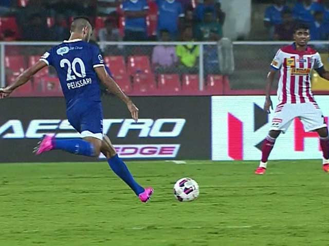 Video : ISL: Chennaiyin Down Atletico de Kolkata in Semi-Final 1st Leg
