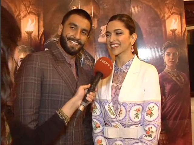 Deepika on Her Role in Bajirao Mastani