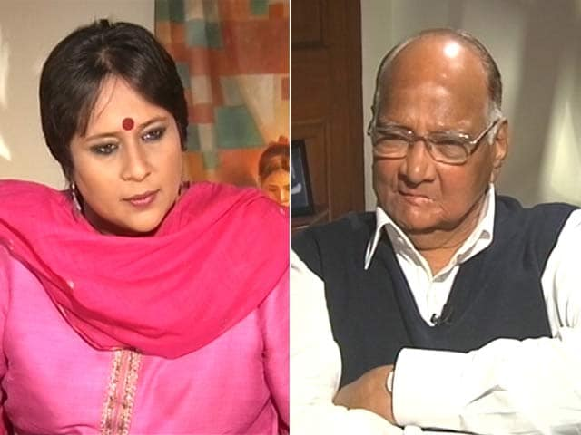 Video : 'Was Too Independent For Her': Pawar On Why Sonia Gandhi Didn't Want Him As PM