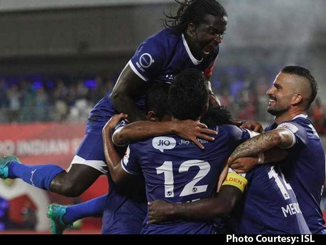 Video : Chennaiyin FC Set up Final Date With FC Goa