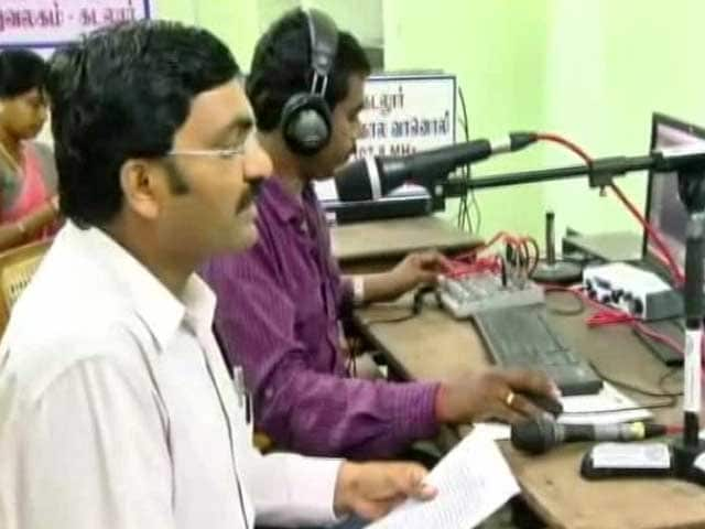 Video : In A First, Cuddalore Sets Up Emergency Radio For Disaster Management