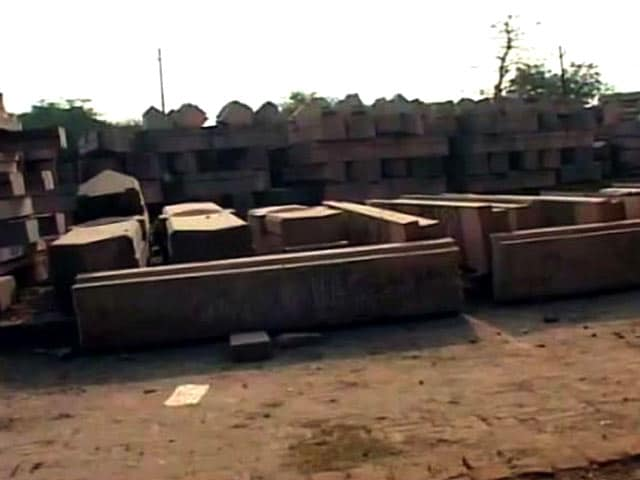 Video : Stones Arrive For Ayodhya's Ram Temple After 8 Years