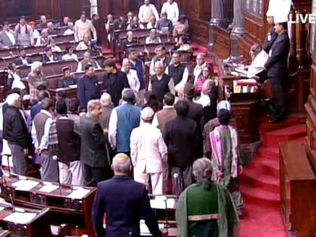 Video : Half Of Rajya Sabha's Time Wasted On Disruptions This Session