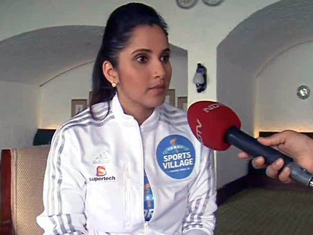 Video : Sania Mirza Honoured To Have Won So Many Achievements In 2015