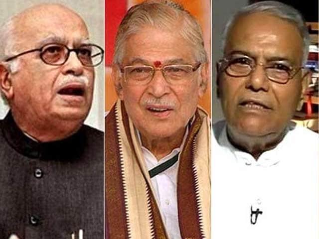 Video : BJP Seniors In Huddle As Party Confronts Kirti Azad Vs Jaitley Battle