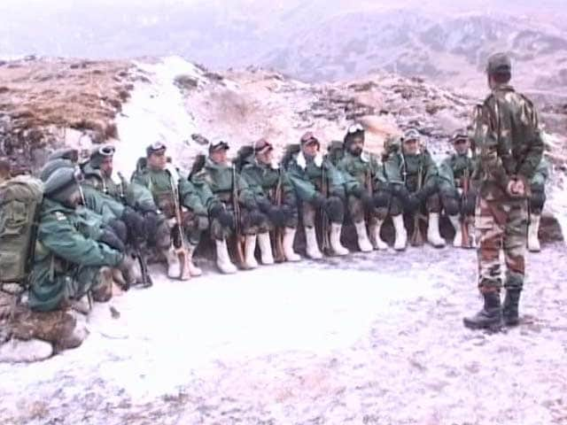 Video : Along India-China Border, Dominance Is Best Claim On Territory, Says Army