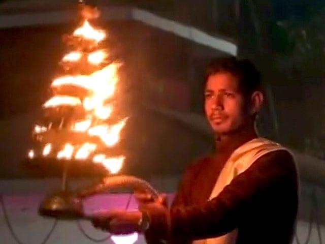 Video : गंगा आरती के साथ नए साल का स्वागत