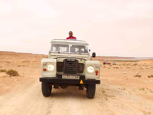 Video : #GLAadventure's Unique Land Rover Experience in Western Sahara