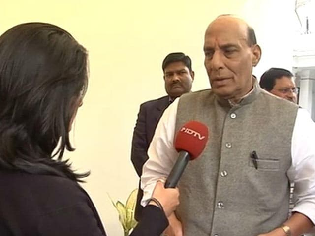 Video : Want Peace, But Will Give Befitting Reply To Terror Attacks: Rajnath