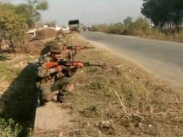 Video : Pathankot: Five Terrorists Killed, A Sixth's Body Not Yet Recovered