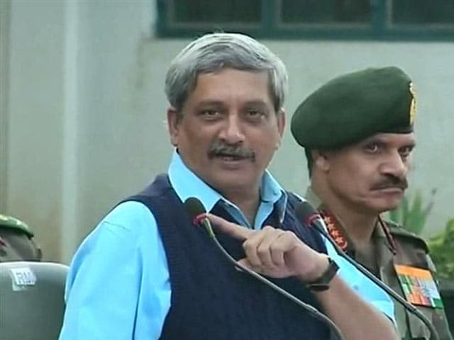 Video : I See Some Gaps, Admits Defence Minister About Pathankot Lapses