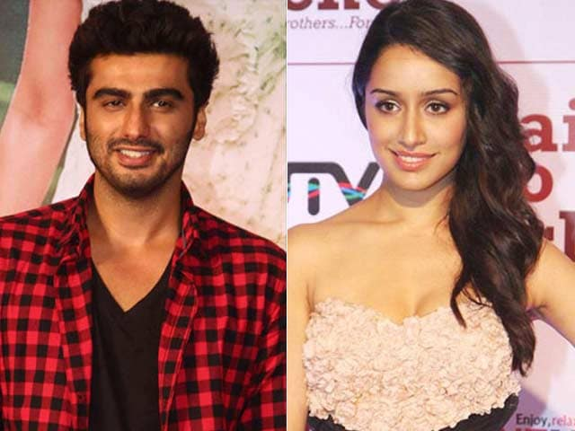 Arjun, Shraddha in Half Girlfriend?