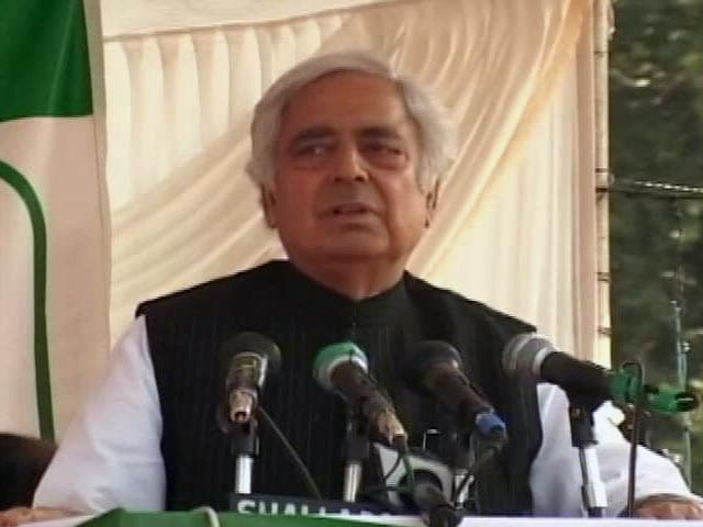 Video : Mufti Mohammad Sayeed: His Last Wish was Peace Between India, Pakistan