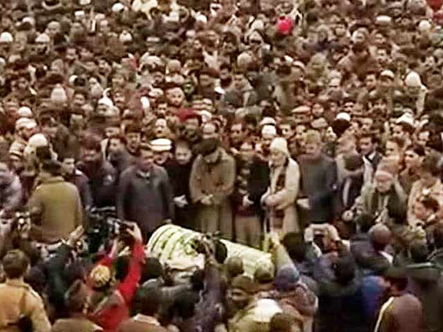 Video : Mufti Mohammad Sayeed, Chief Minister Of Jammu & Kashmir, Dies At 79