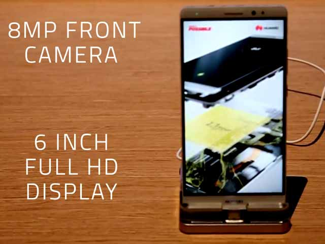 Video : Huawei Mate 8 - First Look