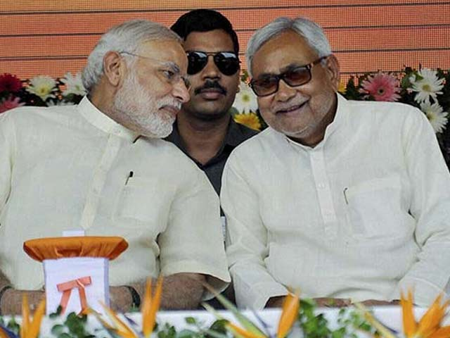 Video : Nitish Kumar Backs PM Modi. But Lalu Asks 'Where's 56-Inch Chest?'