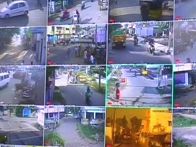 Video : Crime Dips In Chennai Locality As Cops View CCTV Feed 11 Km Away