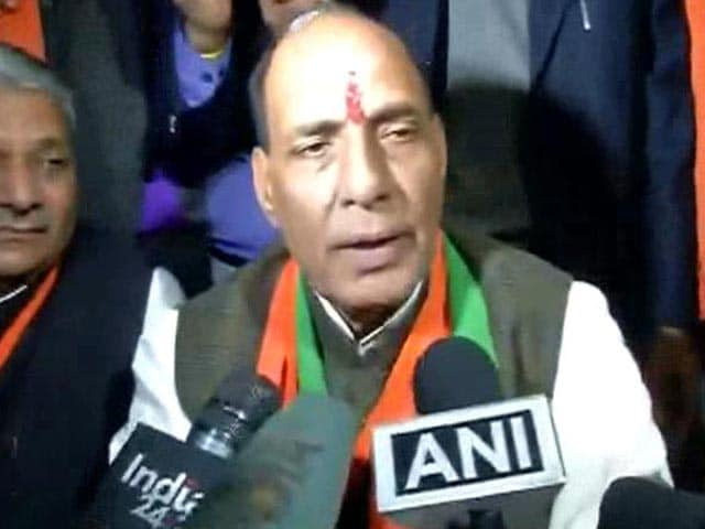 Video : 'No Reason To Doubt Pak, Let's Wait,' Says Rajnath Singh On Pathankot