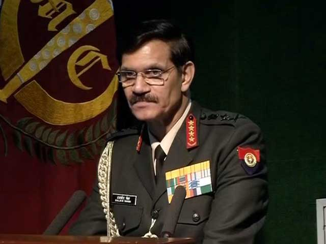 Video : 'Ready For Any Task,' Says Army Chief After Minister's Warning On Pathankot