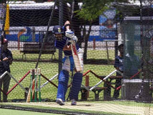 Indian Cricket Team Trains for ODI Against Australia