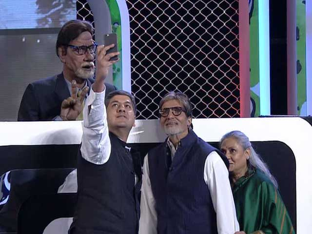 Video : Amitabh Bachchan's 'Ultimate' Selfie From the Cleanathon